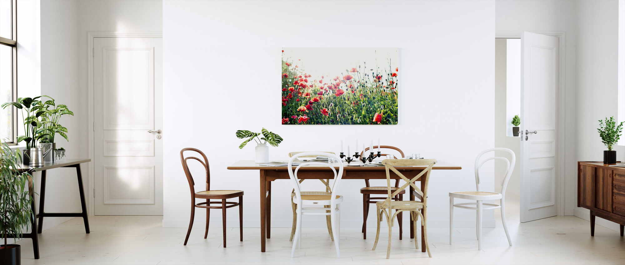 Gotland Poppies - Canvas print - Kitchen