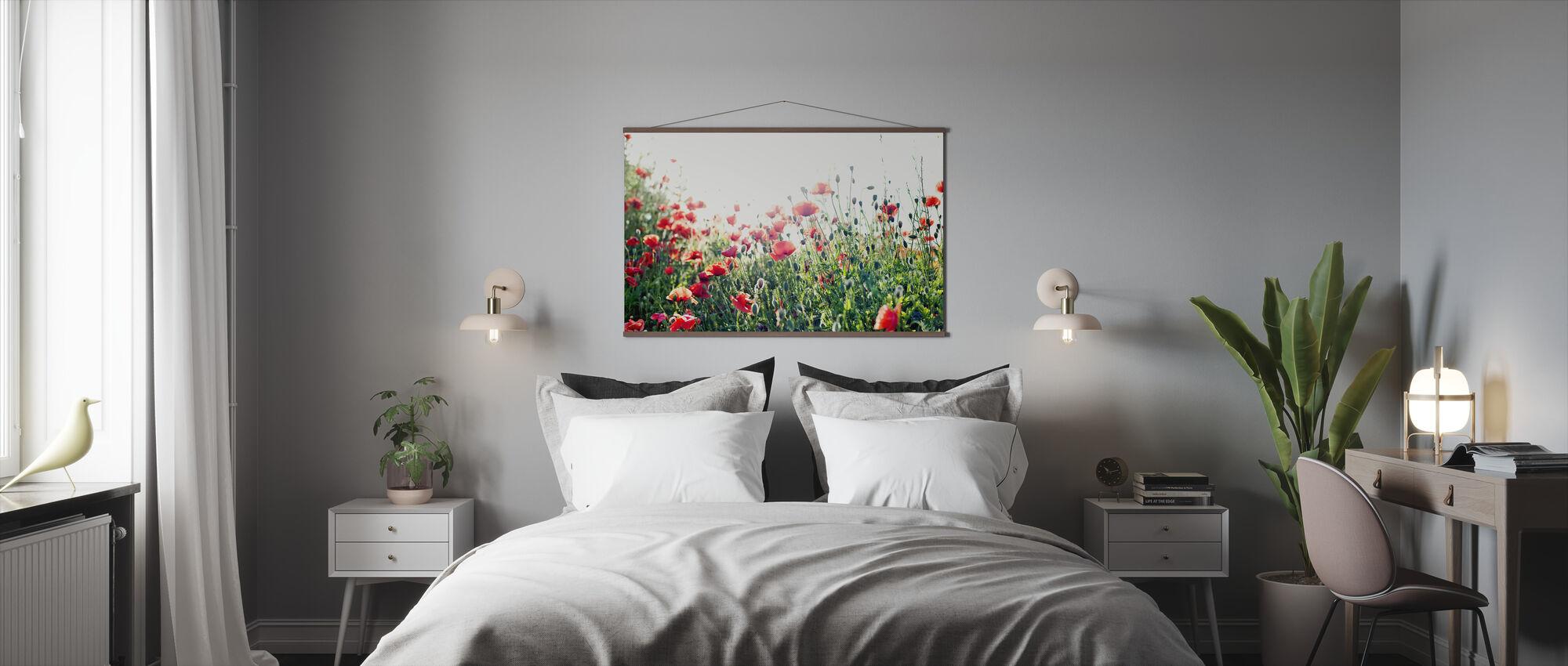 Gotland Poppies - Poster - Bedroom