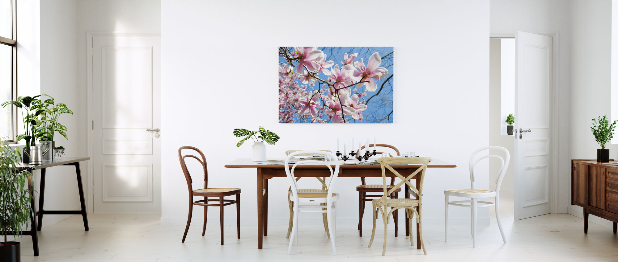 Manhattan Magnolia - Canvas print - Keuken