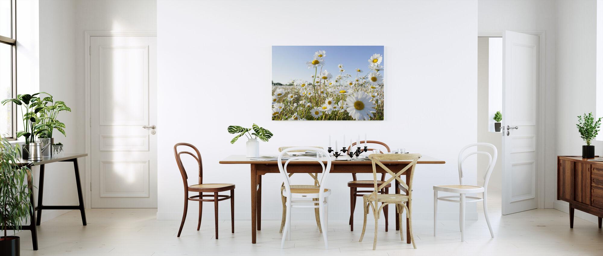 Marguerite - Canvas print - Kitchen