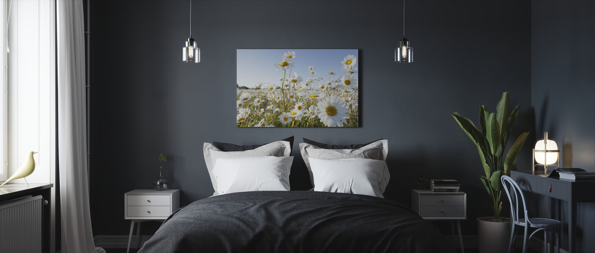 Marguerite - Canvas print - Bedroom