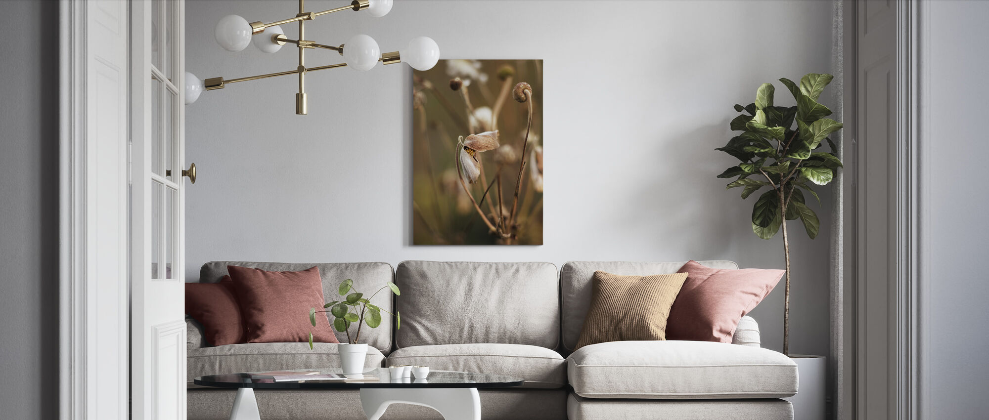 September Charm - Canvas print - Living Room