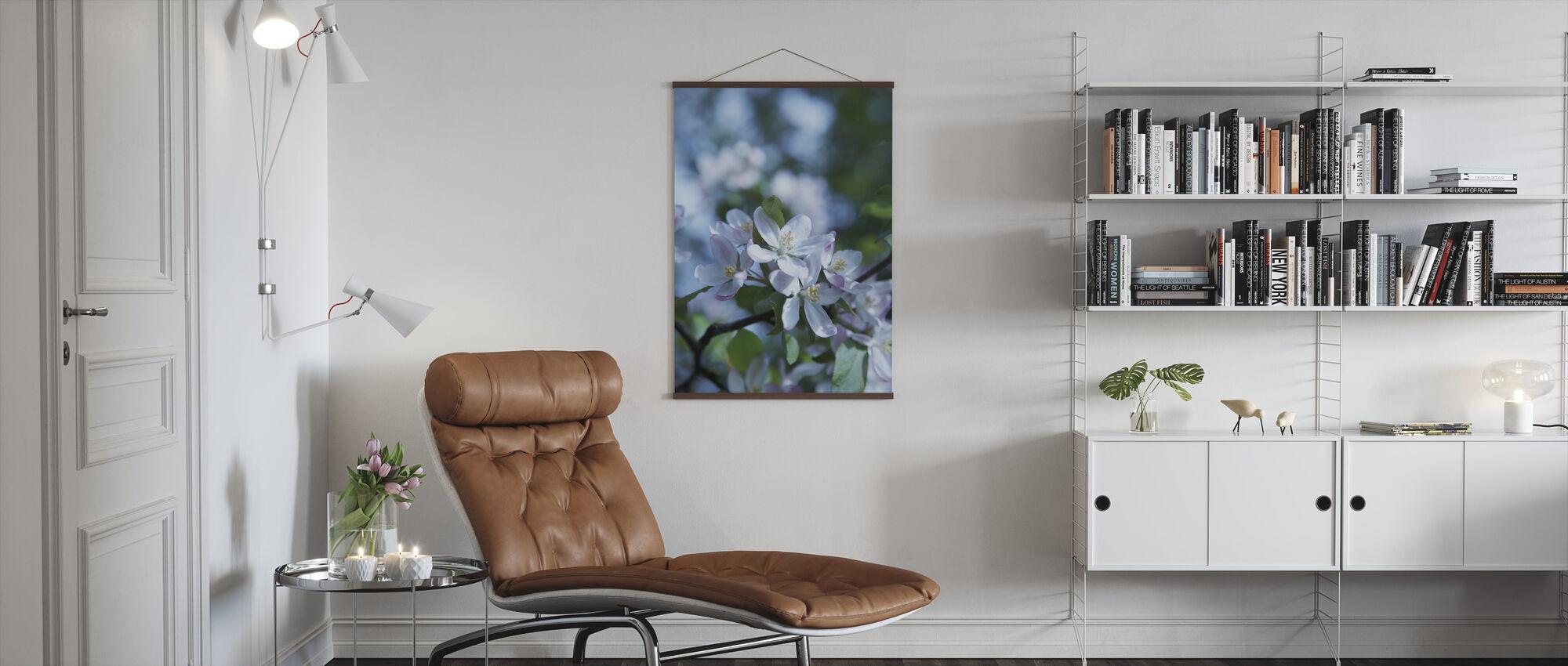 Wild Apple Blossom - Poster - Living Room