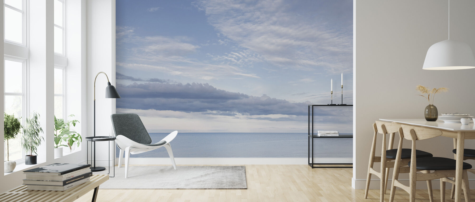 Coast of Simrishamn, Sweden - Wallpaper - Living Room