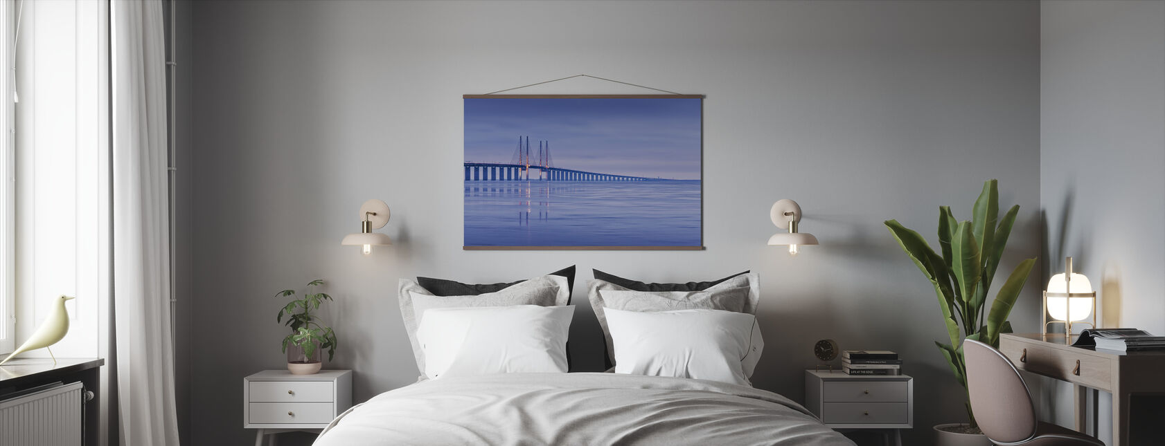 Oresund Bridge - Poster - Bedroom