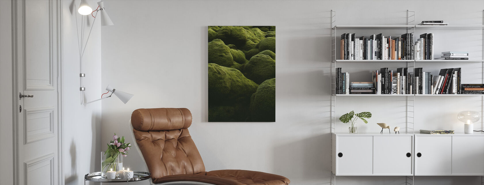 Stones of Iceland - Canvas print - Living Room