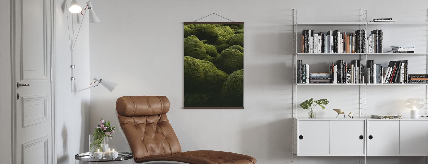 Sten på Island - Plakat - Stue