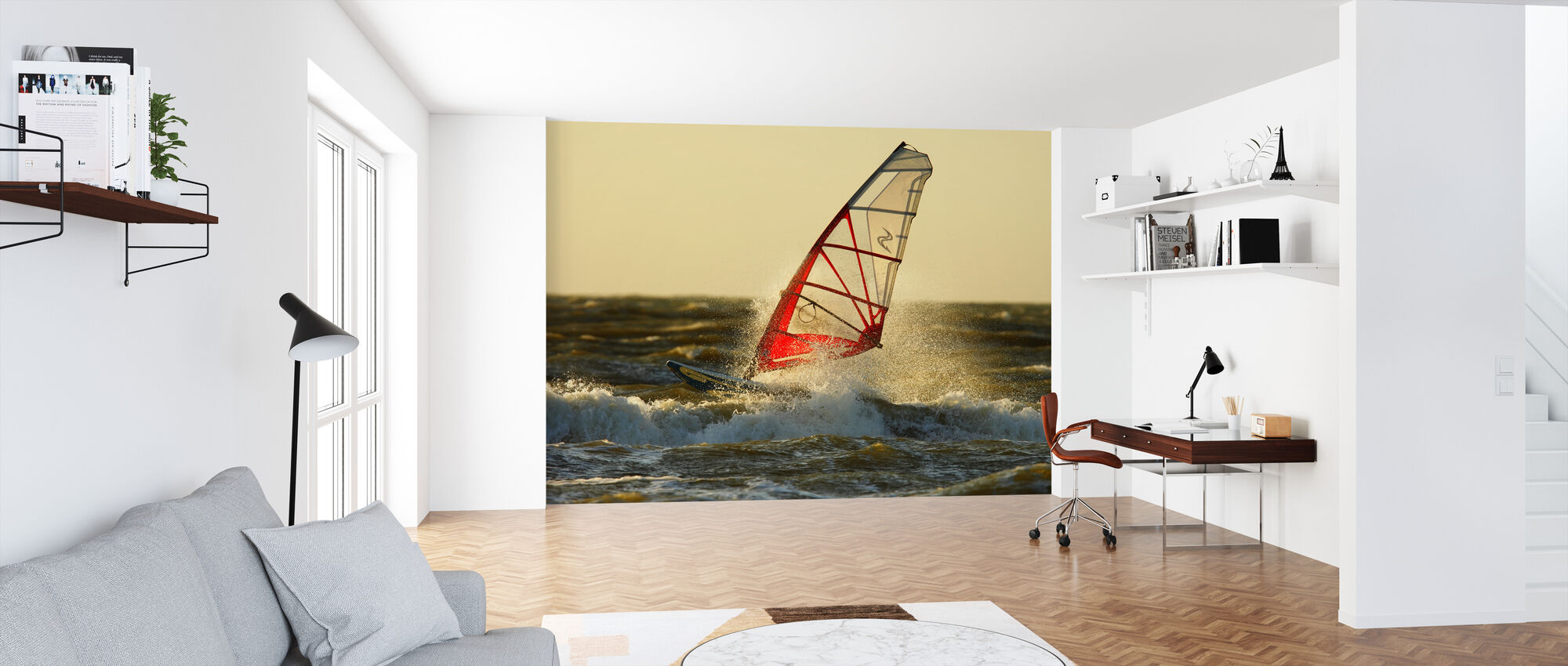 Surfing in Sweden, Europe - Wallpaper - Office