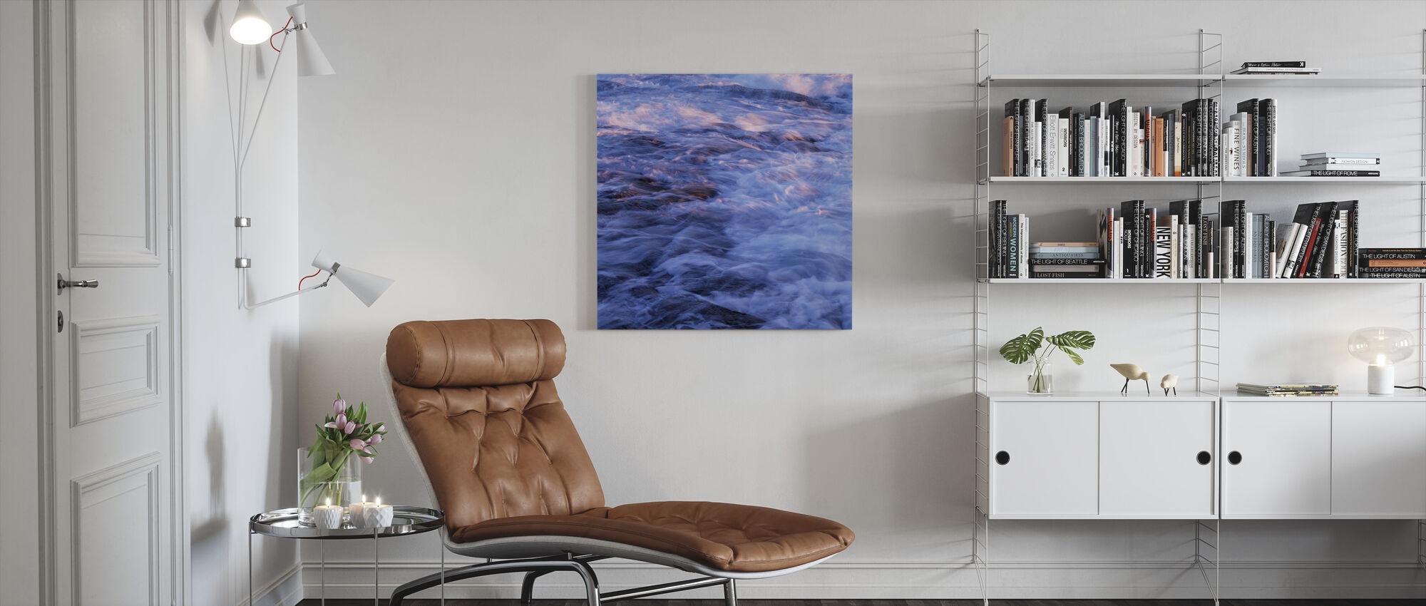 Swedish West Coast - Canvas print - Living Room