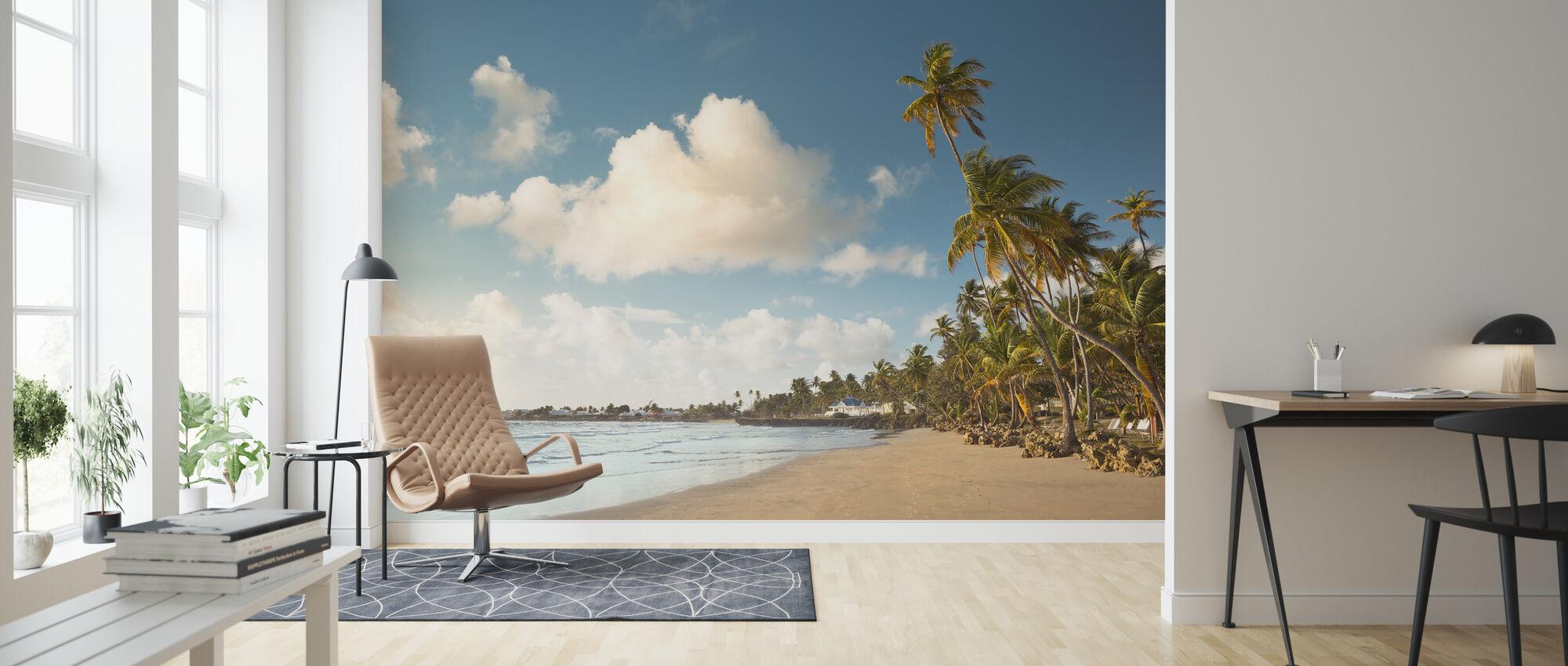 Trinidad and Tobago - Wallpaper - Living Room