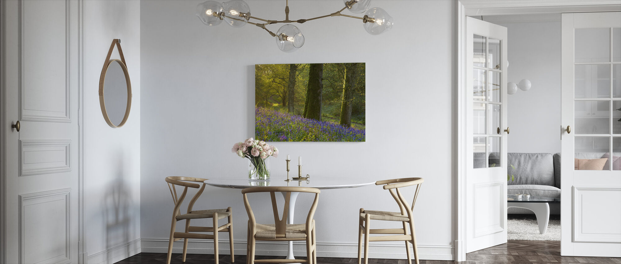 Bluebell Woods at Batcombe - Canvas print - Kitchen