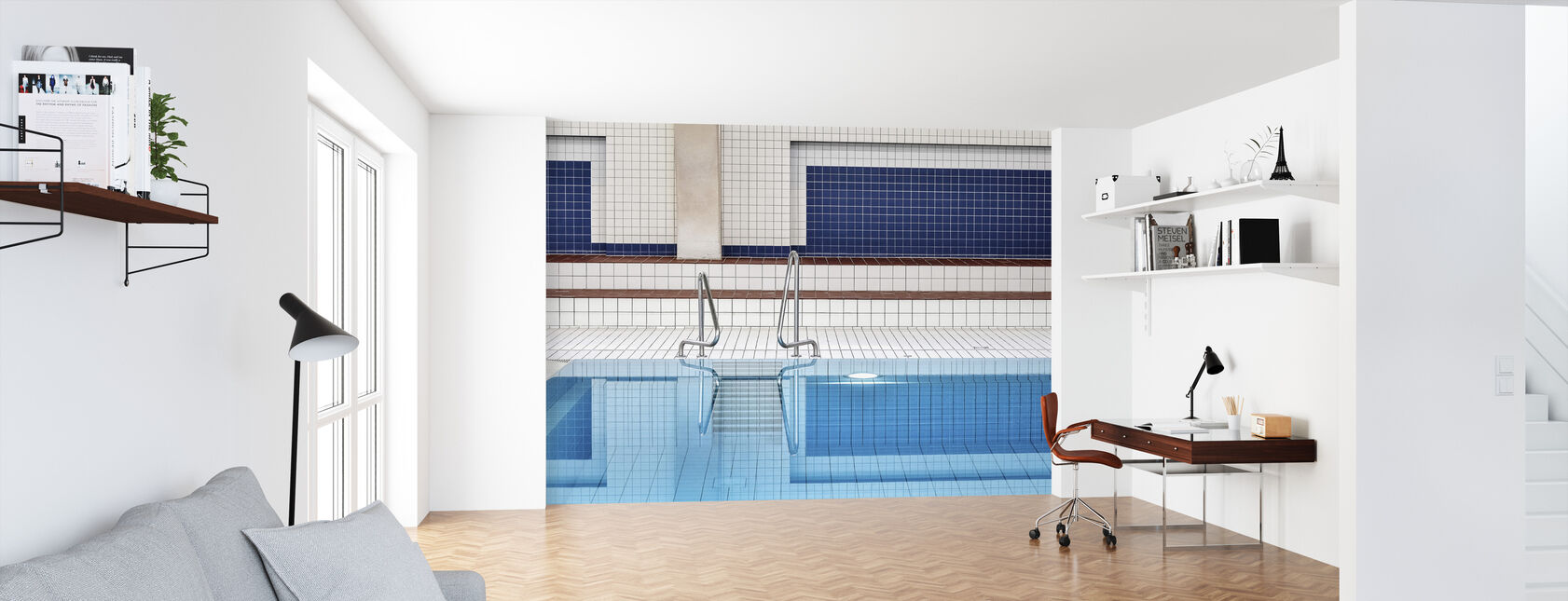 Swimming - Wallpaper - Office