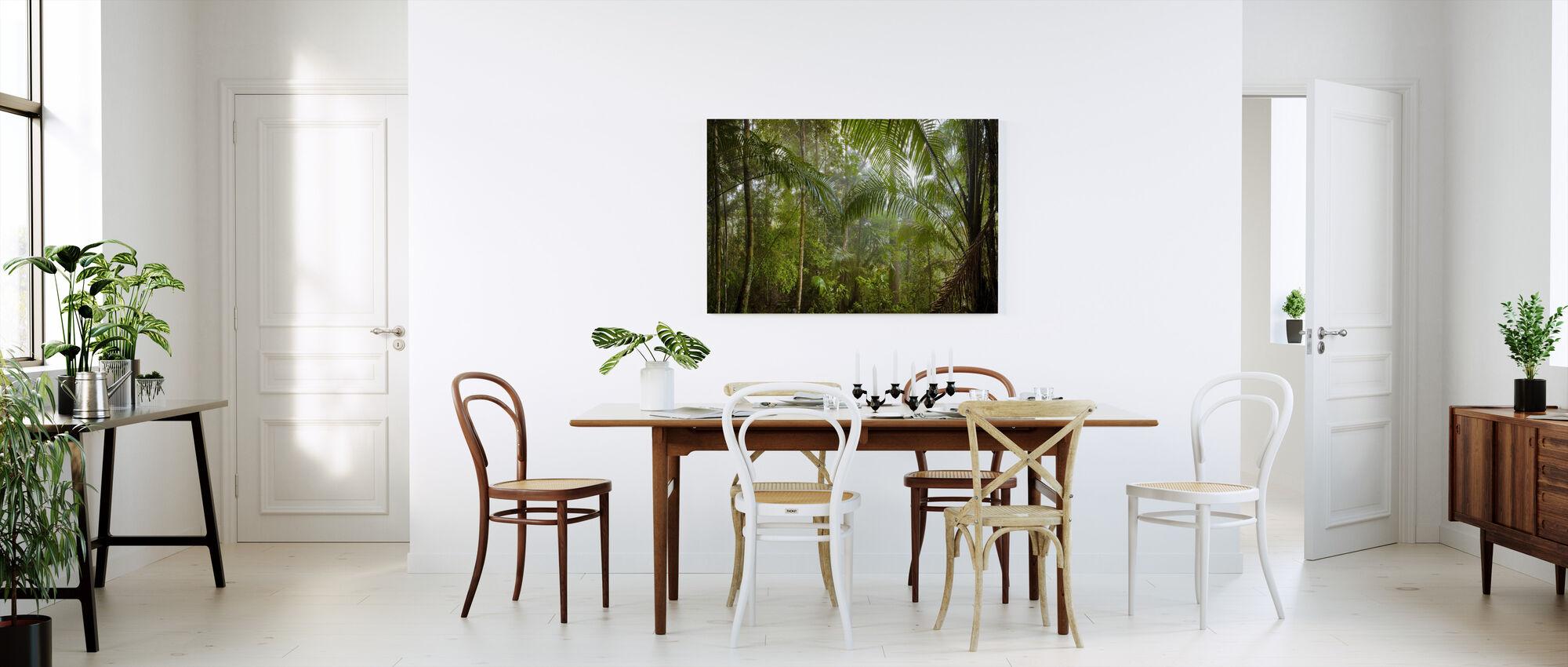 Forêt tropicale de Bornéo - Impression sur toile - Cuisine