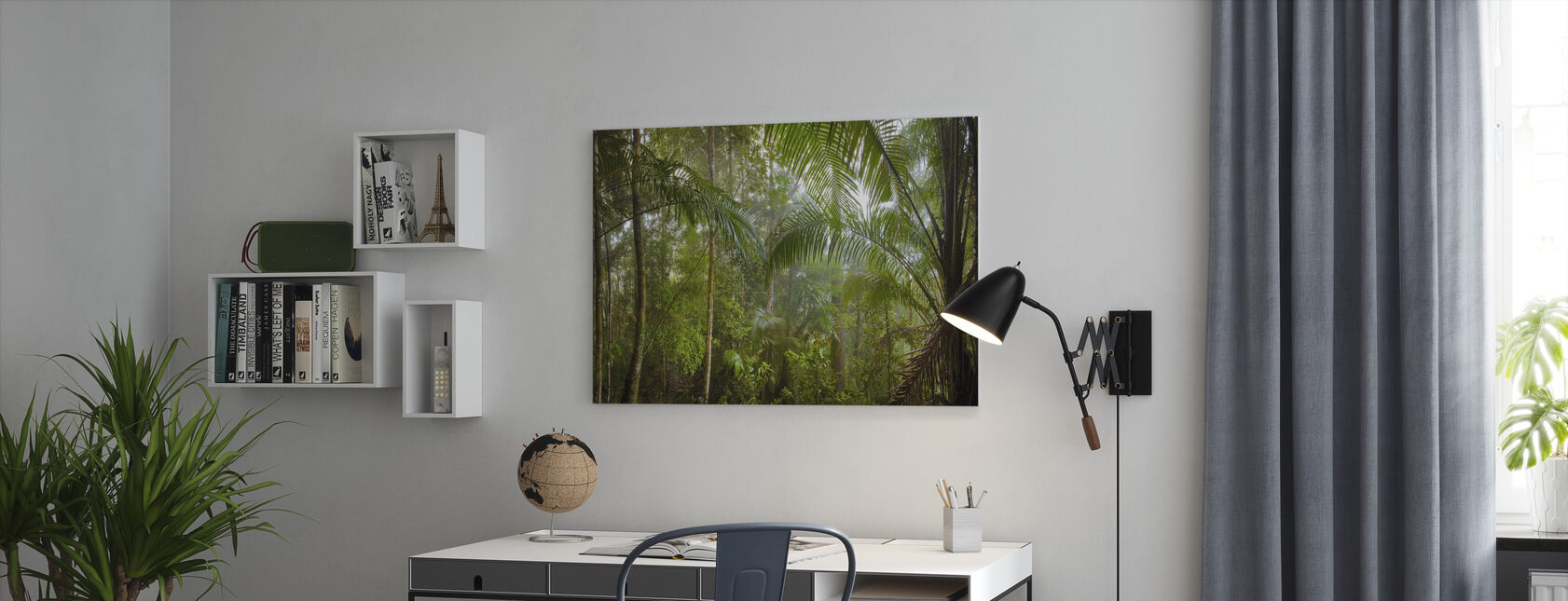 Borneo Tropical Rainforest - Canvas print - Office