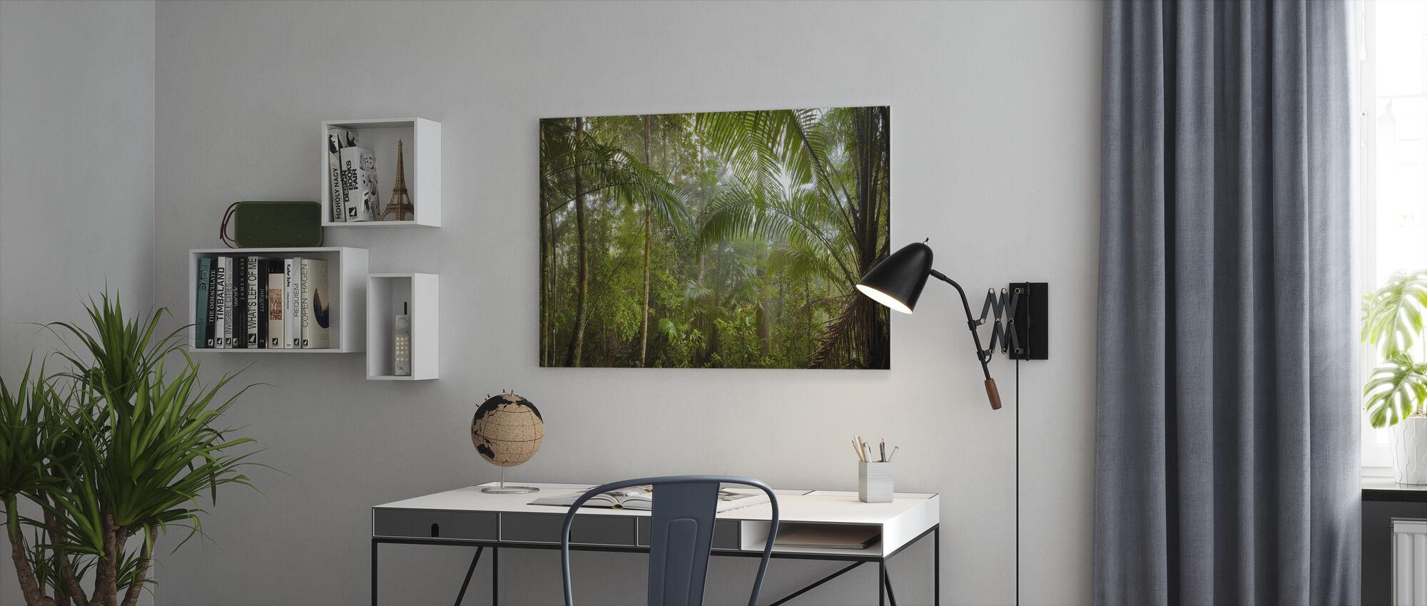 Forêt tropicale de Bornéo - Impression sur toile - Bureau