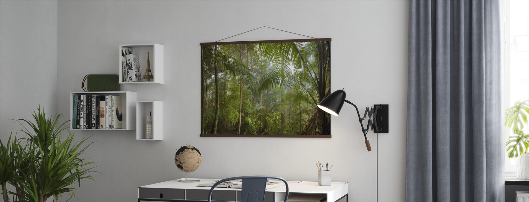 Borneo Tropical Rainforest - Poster - Office