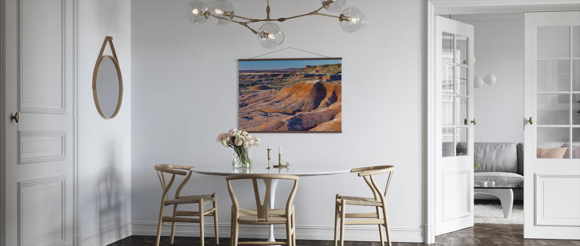 Kleurrijke Badlands - Poster - Keuken