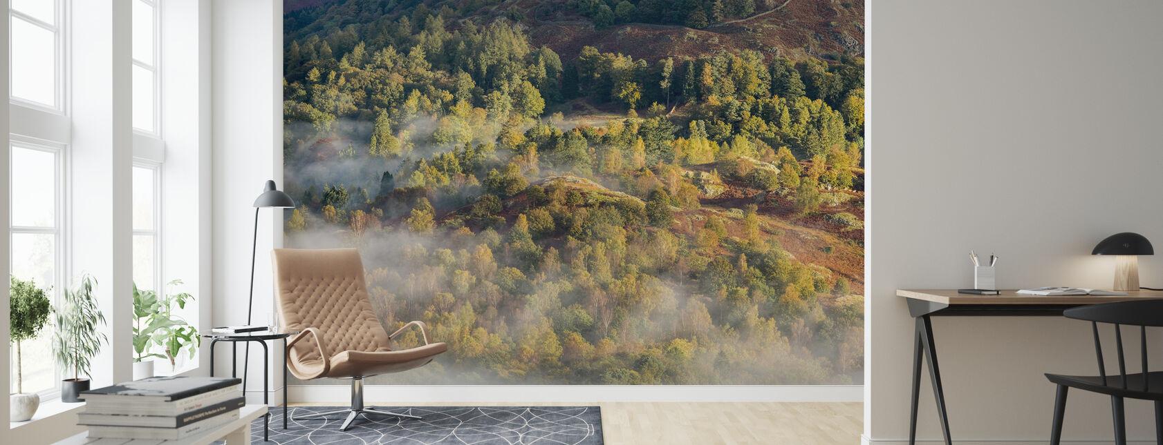 Lake District - Wallpaper - Living Room