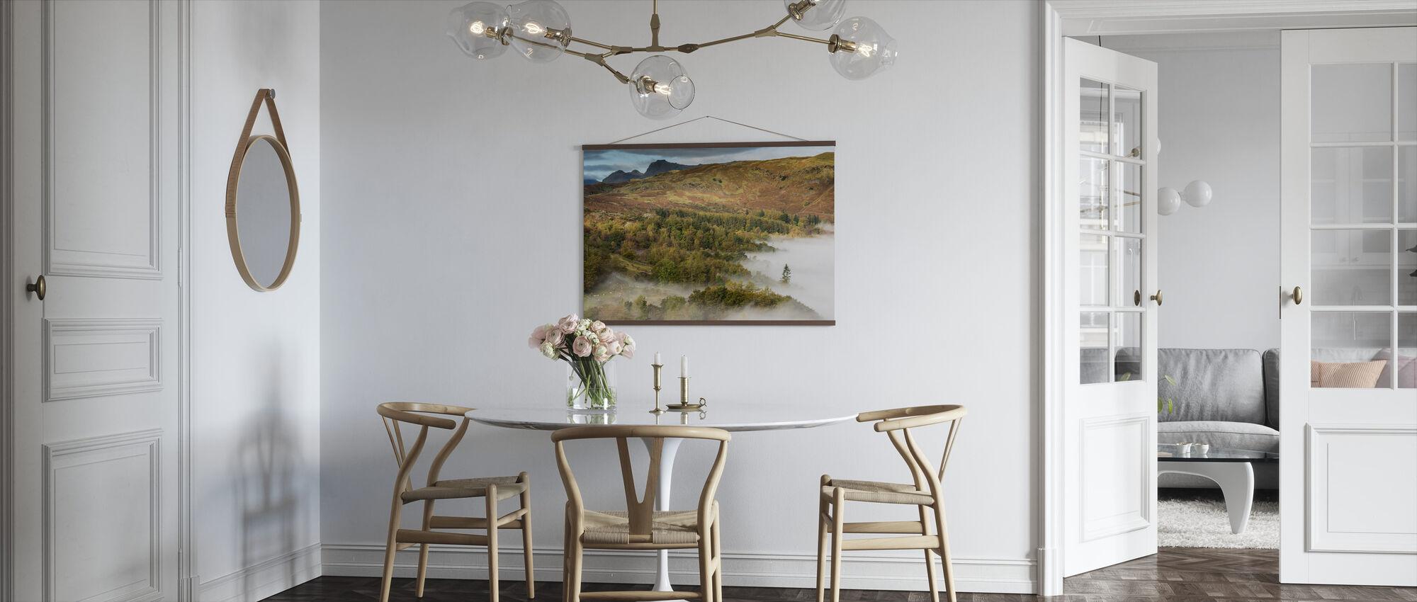 Utsikt fra Loughrigg - Plakat - Kjøkken