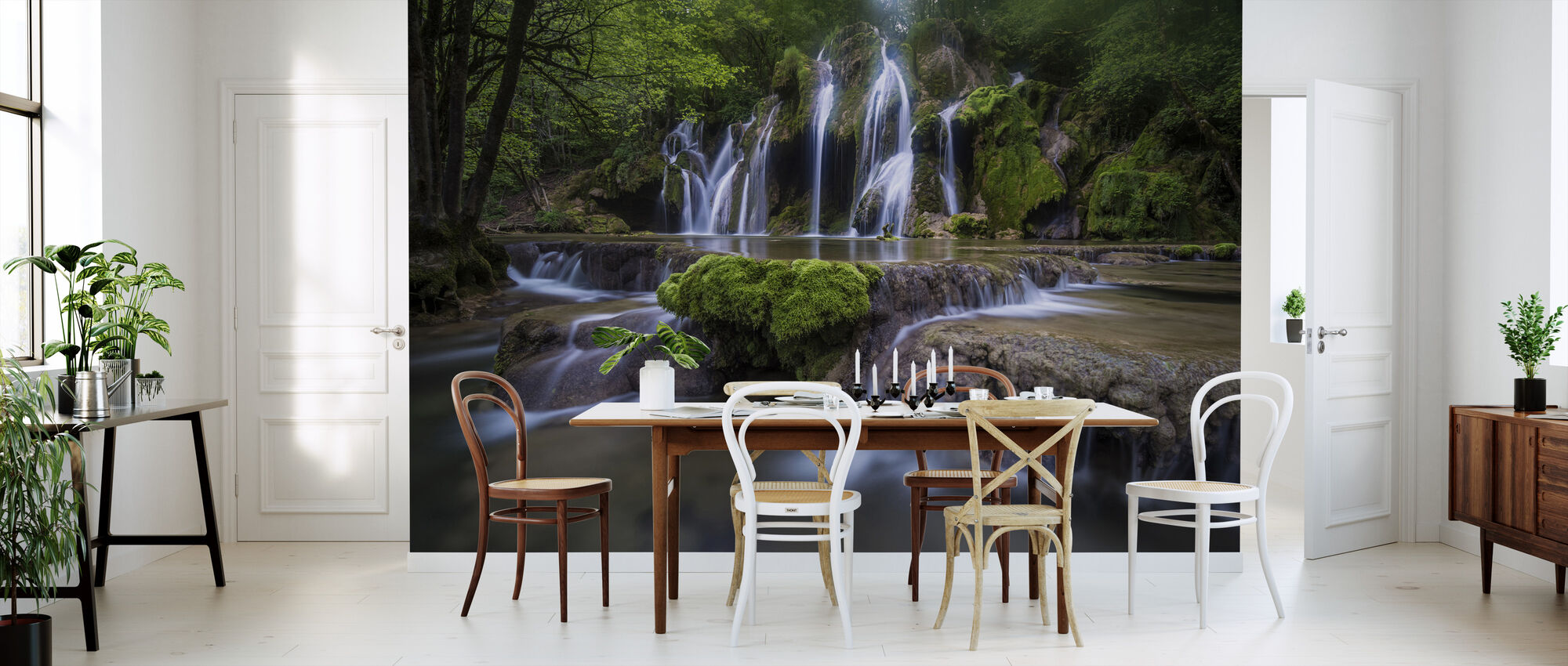 View of La Cascade des Tufs, France, Europe - Wallpaper - Kitchen