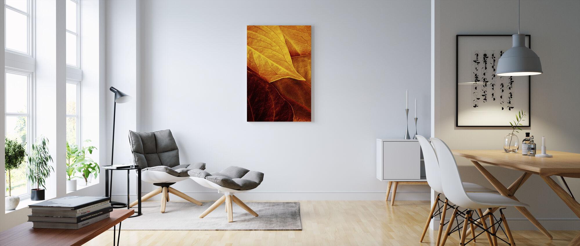 Golden Vessels - Canvas print - Living Room