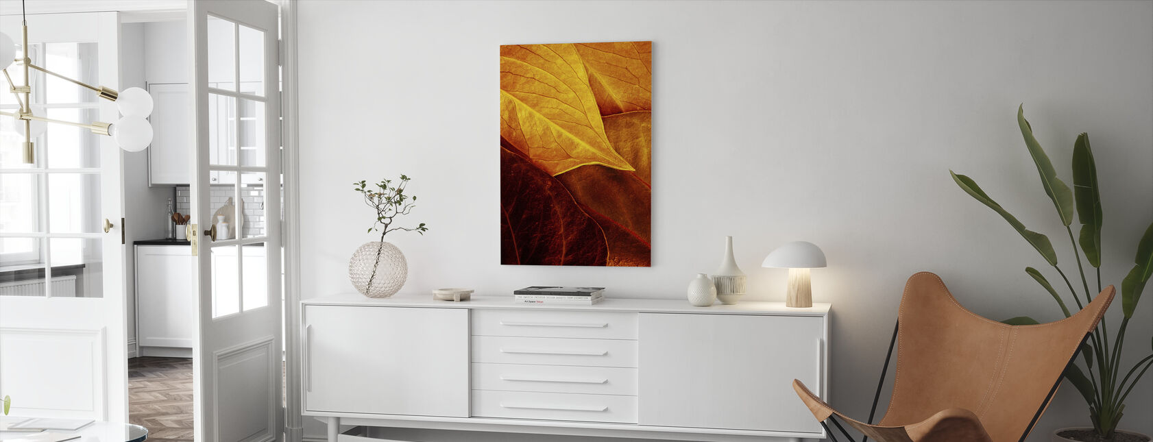 Golden Vessels - Canvas print - Living Room