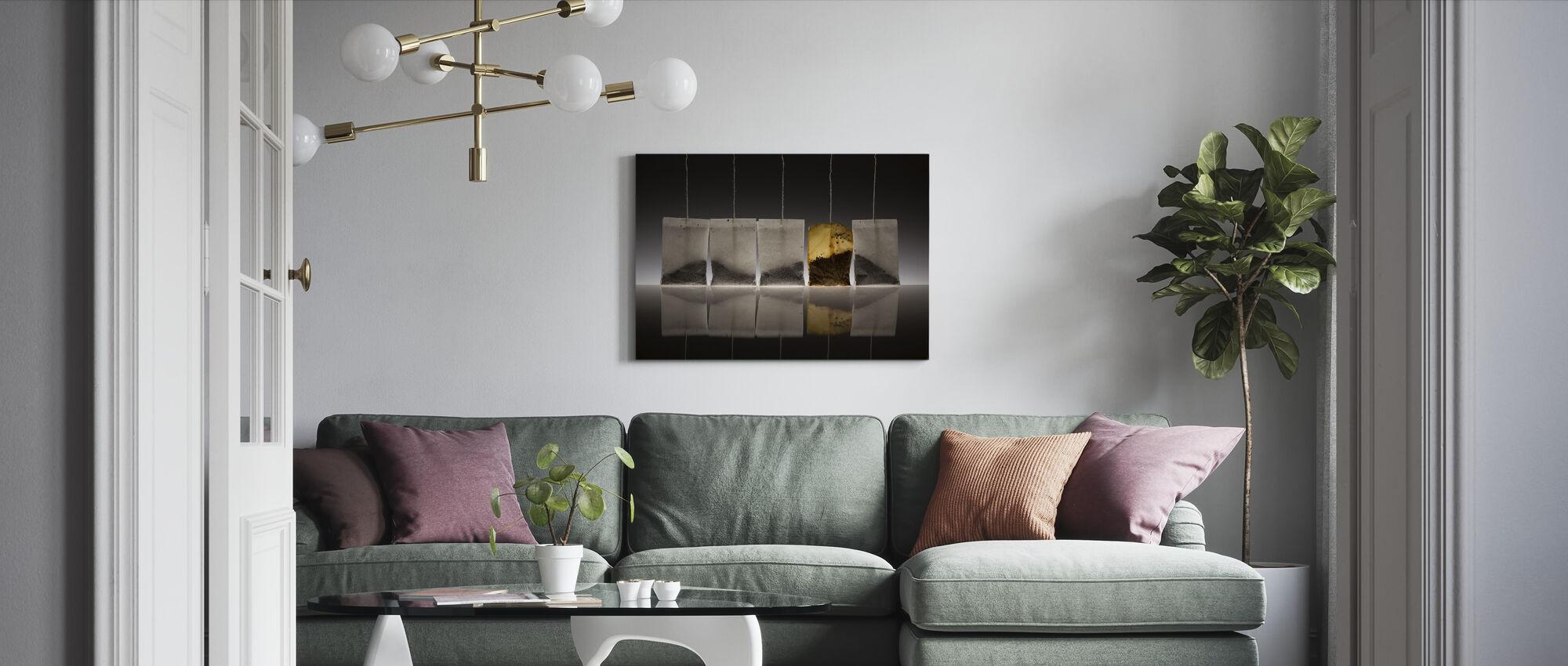 Teascape - Canvas print - Woonkamer