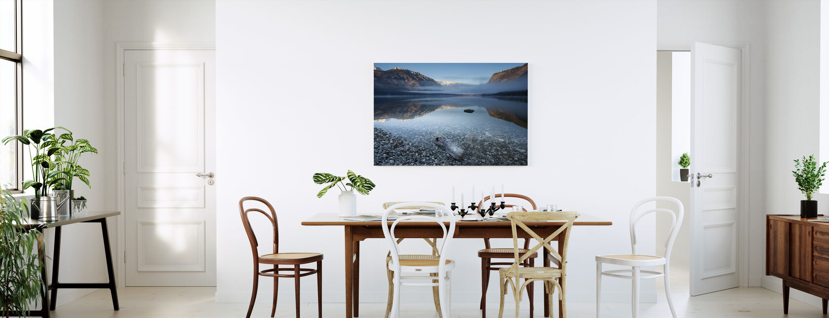 Bohinj's Tranquility - Canvas print - Kitchen