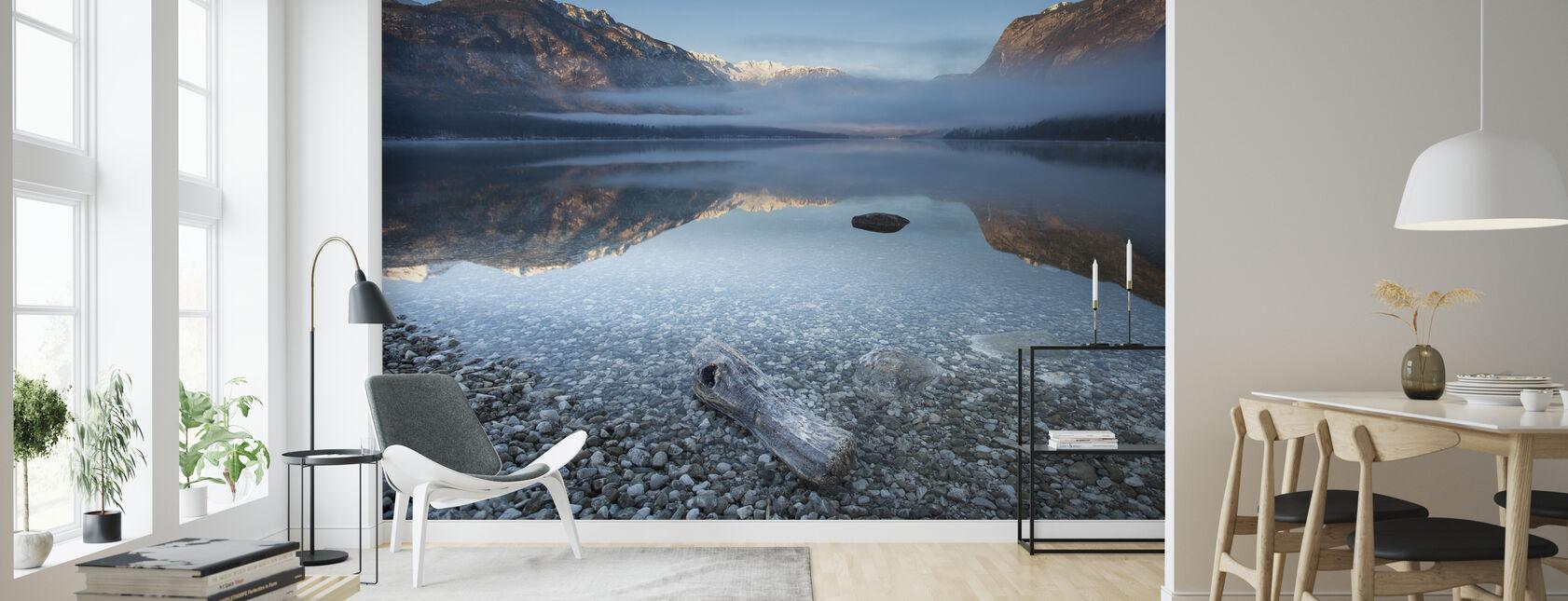 Bohinj's Tranquility - Wallpaper - Living Room