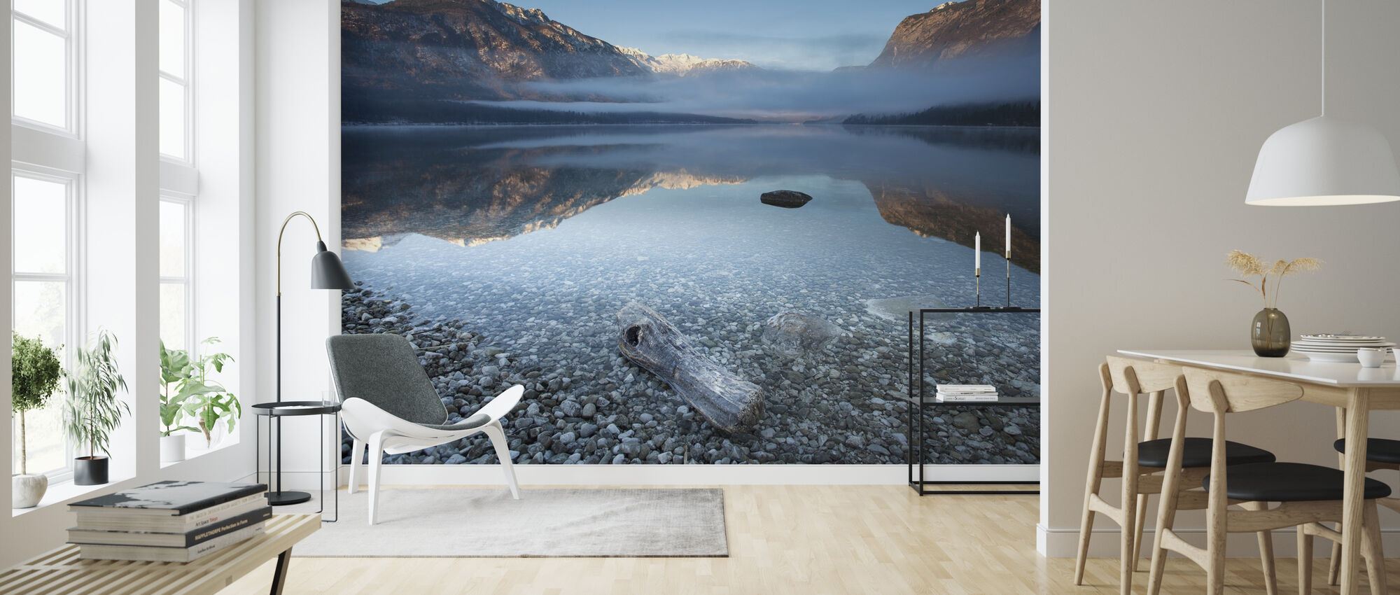 Bohinj's Tranquility - Wallpaper - Living Room
