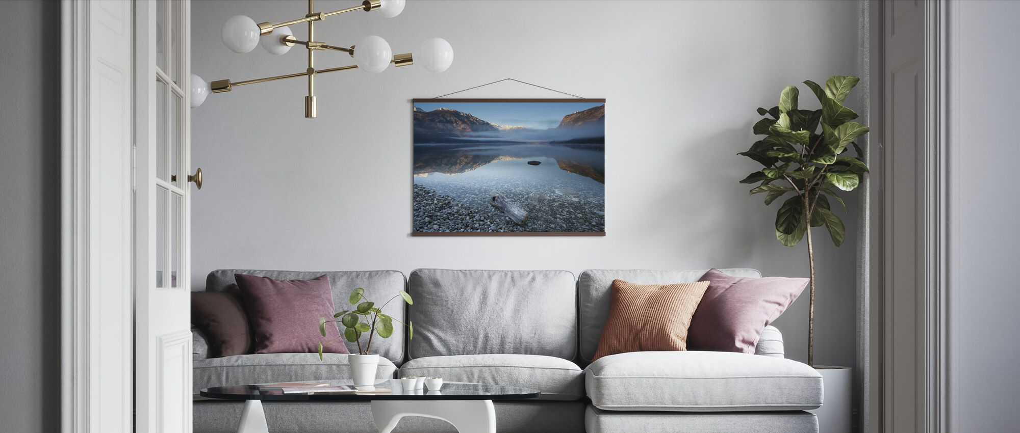 Bohinj's Tranquility - Poster - Living Room