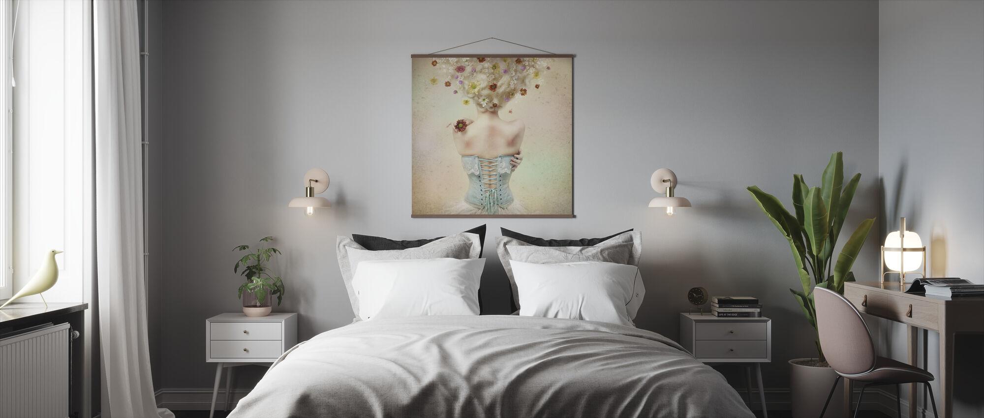 Girl of the Flower Garden - Poster - Bedroom
