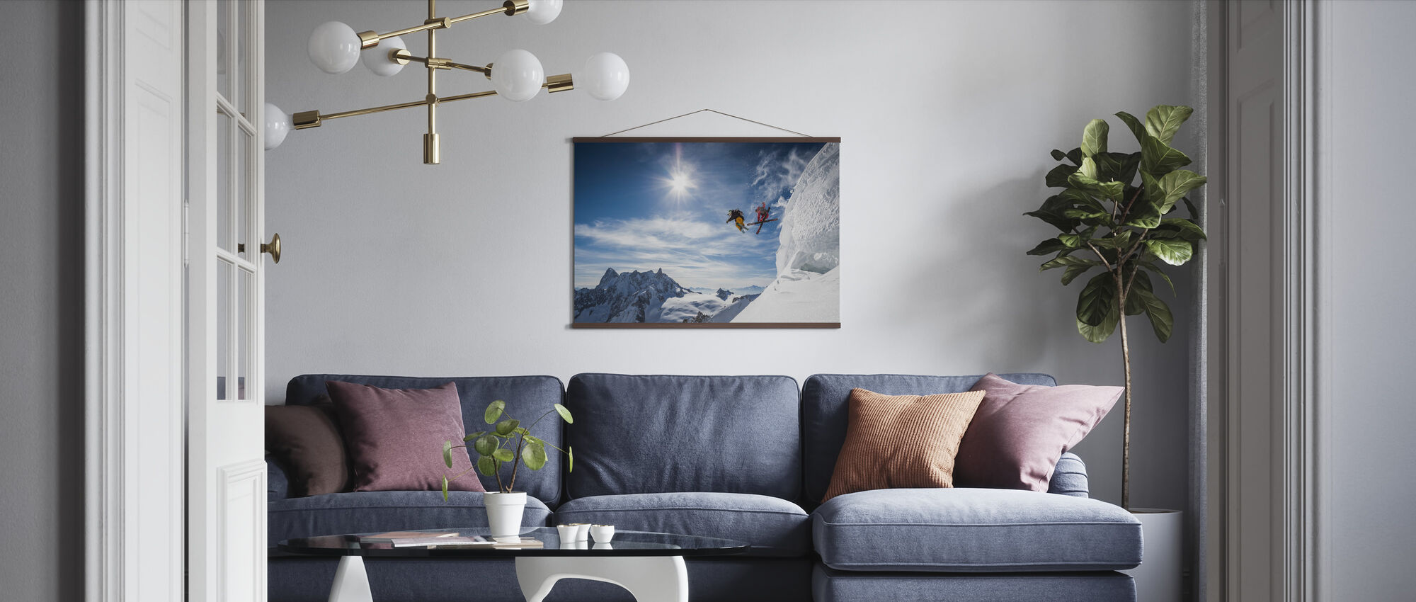 Jumping Legends - Poster - Living Room