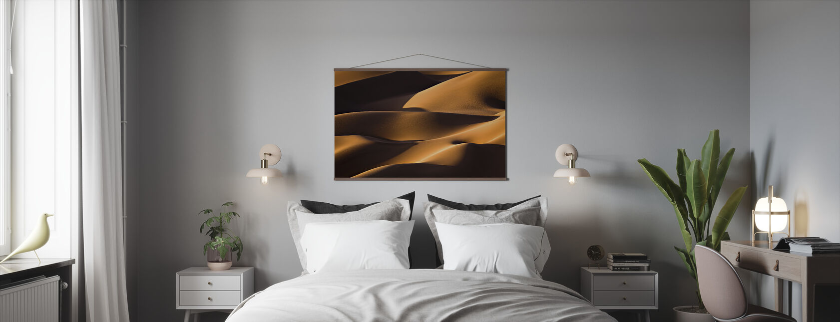 Light and Shadow - Poster - Bedroom