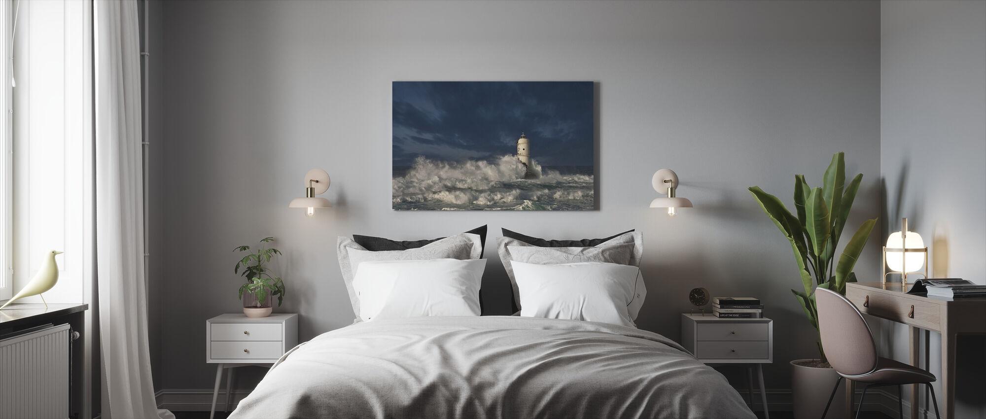 Lighthouse Bird Eaters - Canvas print - Bedroom