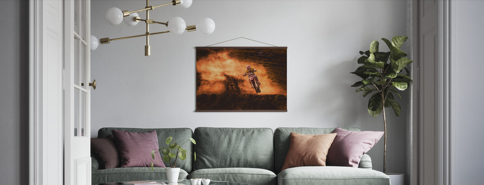 Above - Poster - Living Room
