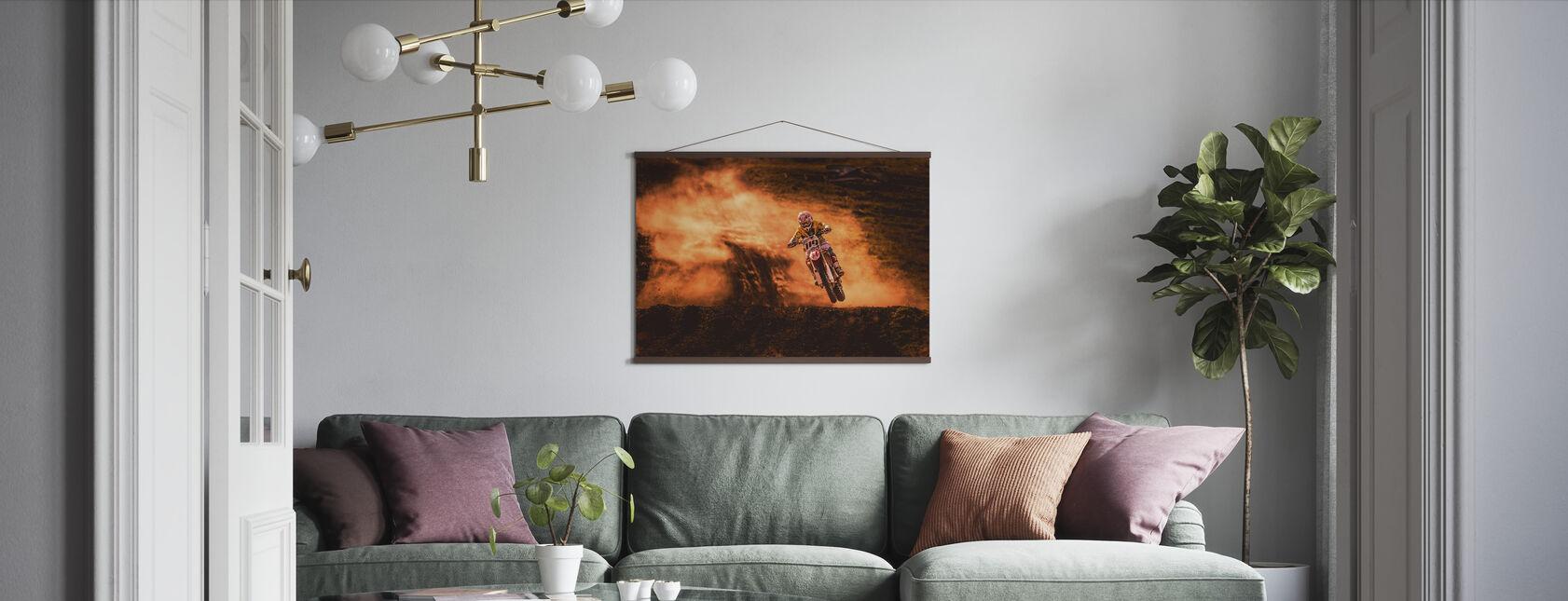 Boven - Poster - Woonkamer