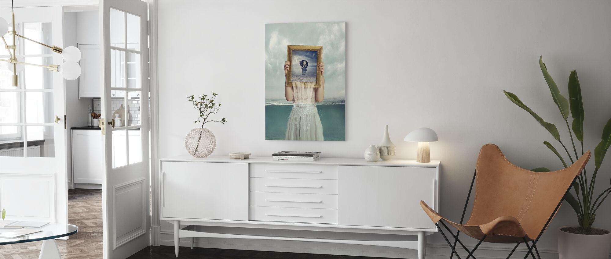 Dieper - Canvas print - Woonkamer