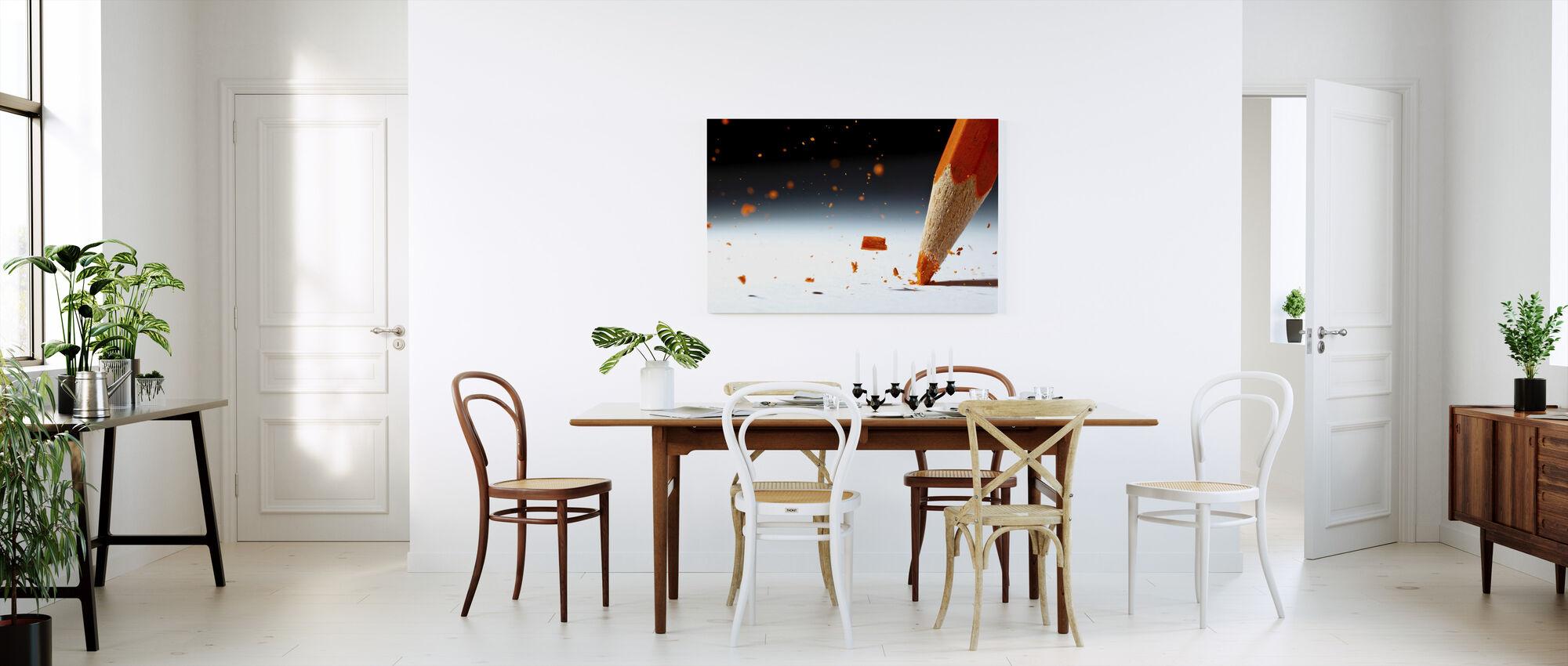Let it Rain - Canvas print - Kitchen