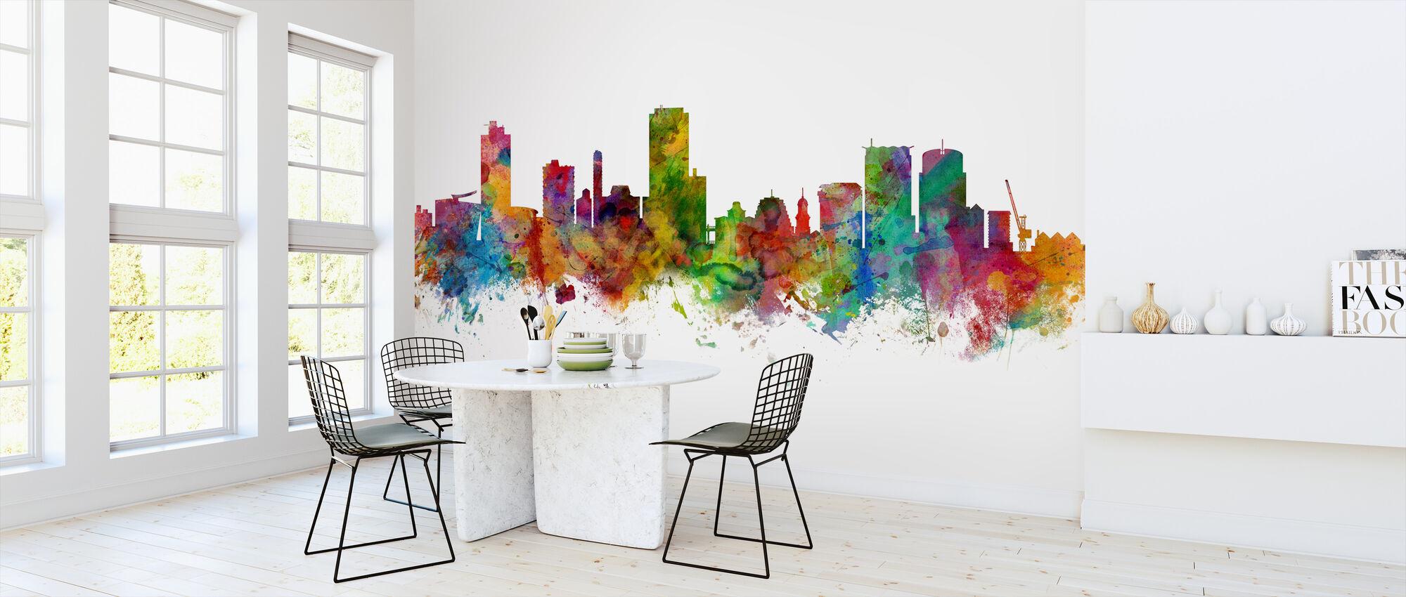 Wellington Skyline - Wallpaper - Kitchen