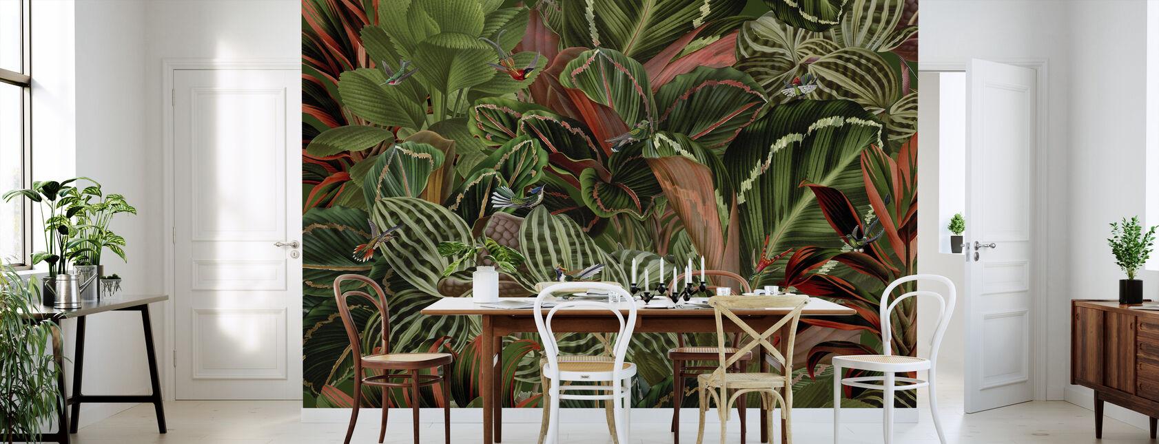 Birds of Paradise - Wallpaper - Kitchen