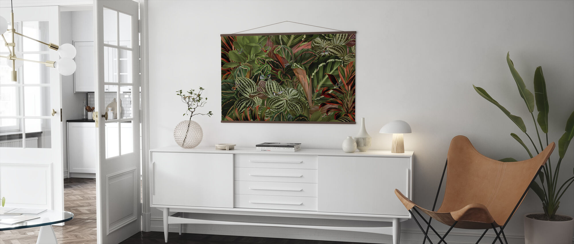 Birds of Paradise - Poster - Living Room