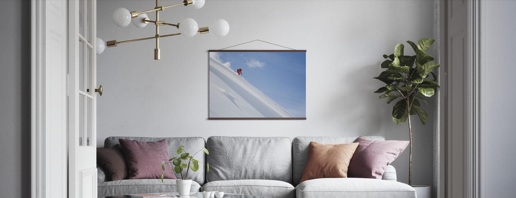 Off Piste Ski - Poster - Wohnzimmer