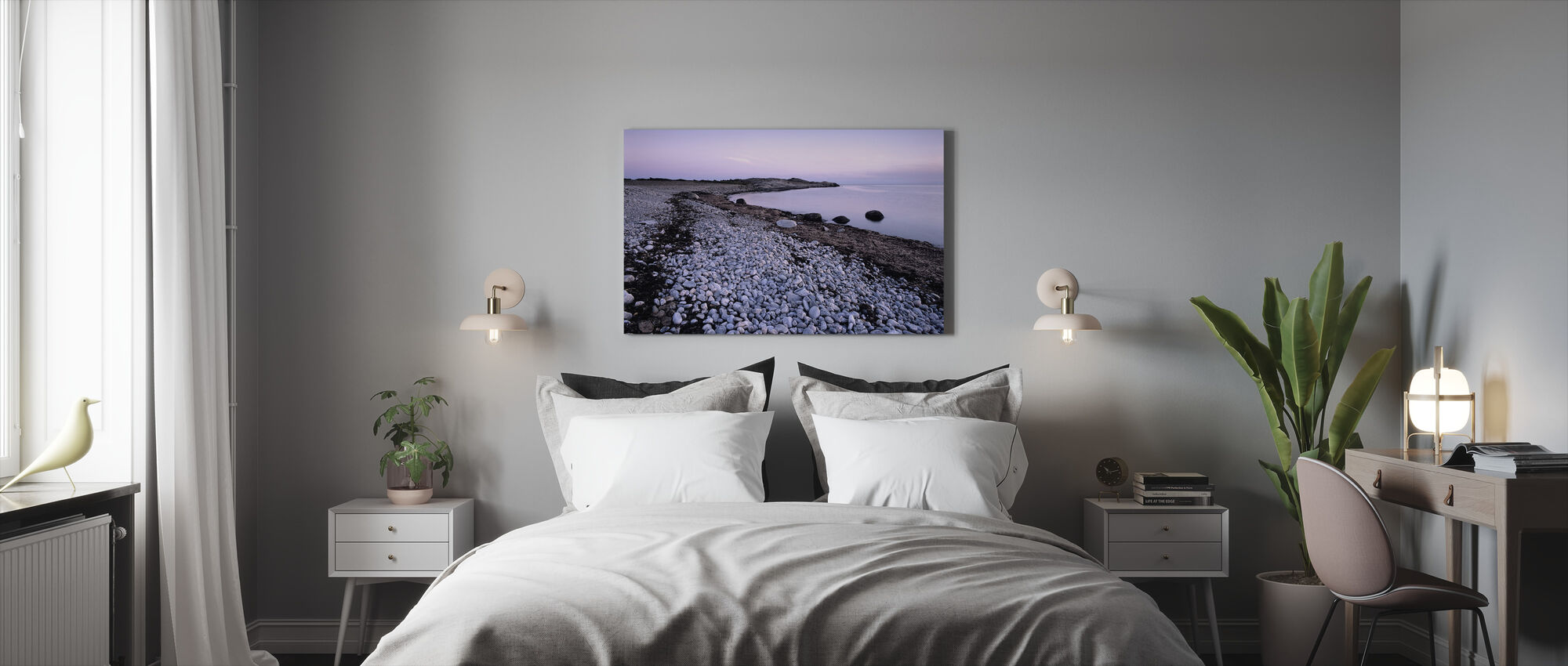 Blue Dawn - Canvas print - Bedroom