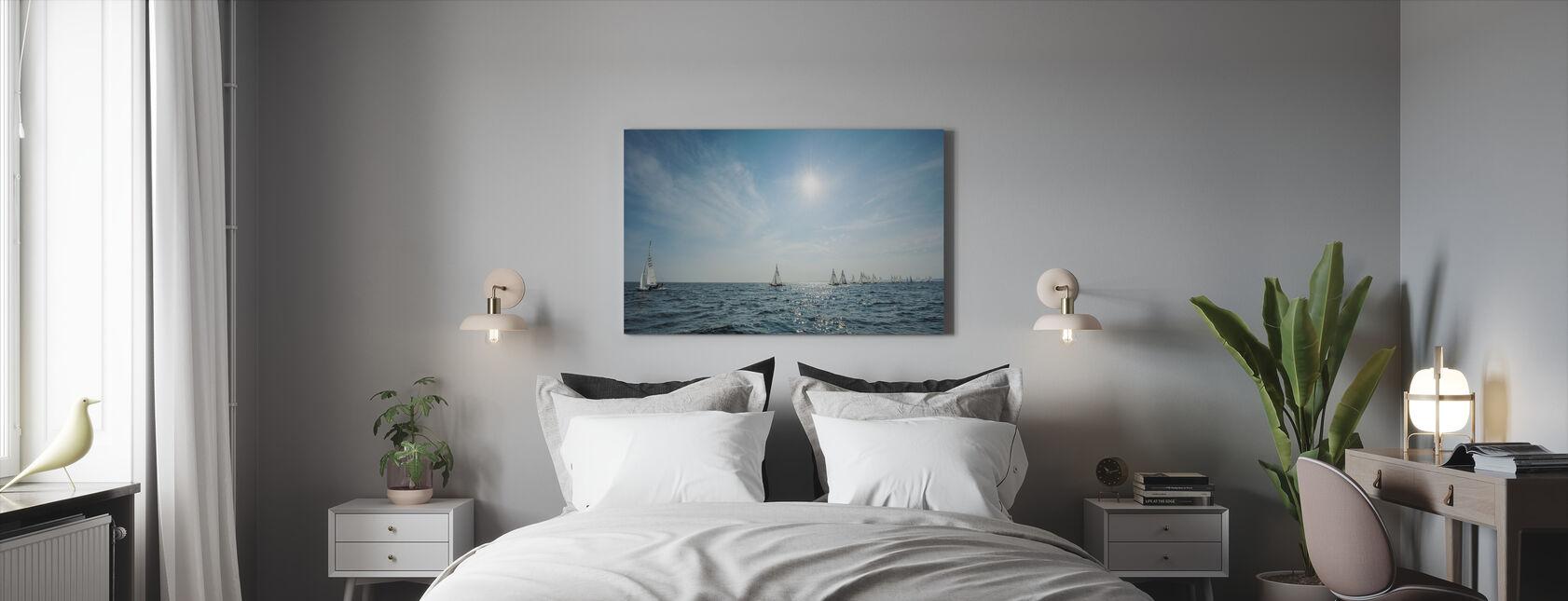 Het Archipleago van Nynashamn, Zweden - Canvas print - Slaapkamer