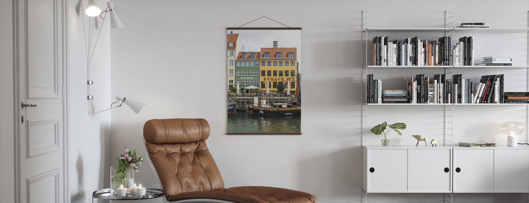 Nyhavn 17, Kopenhagen, Dänemark - Poster - Wohnzimmer