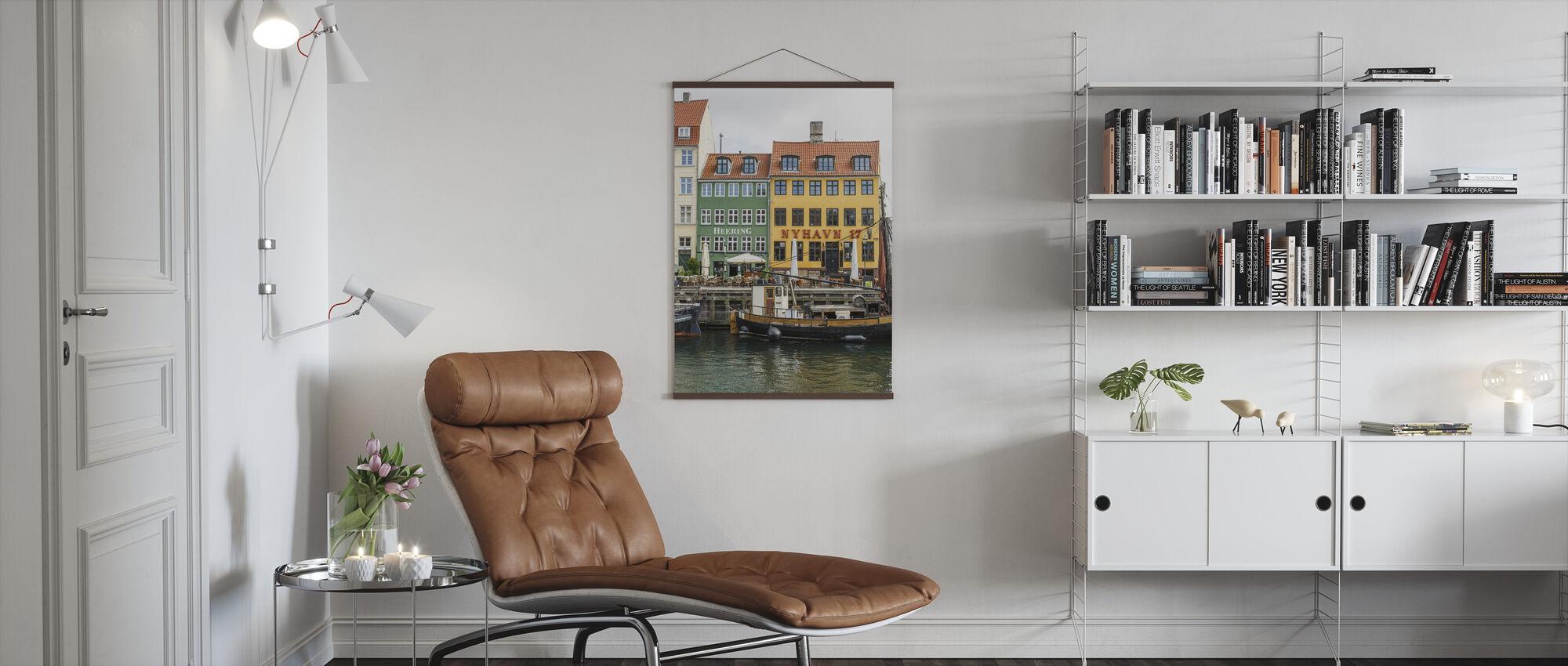Nyhavn 17, Copenhagen, Denmark - Poster - Living Room