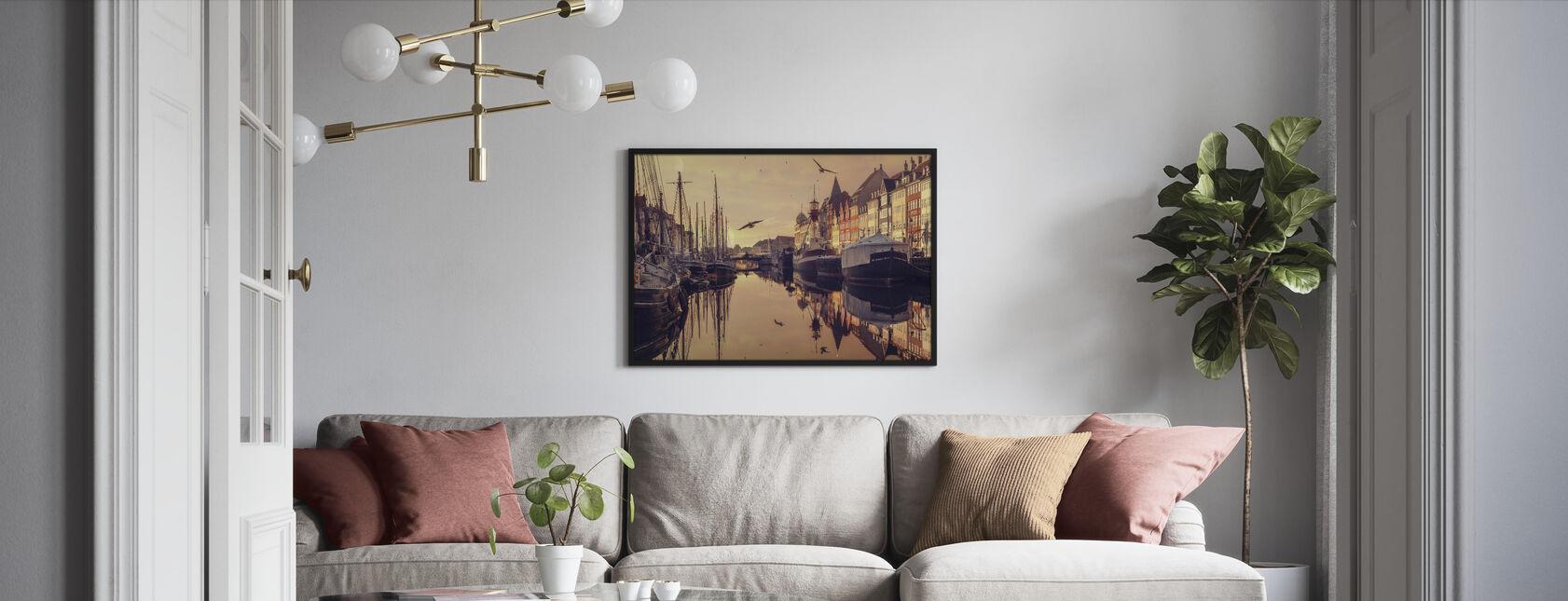 Romantisk København, Danmark - Innrammet bilde - Stue
