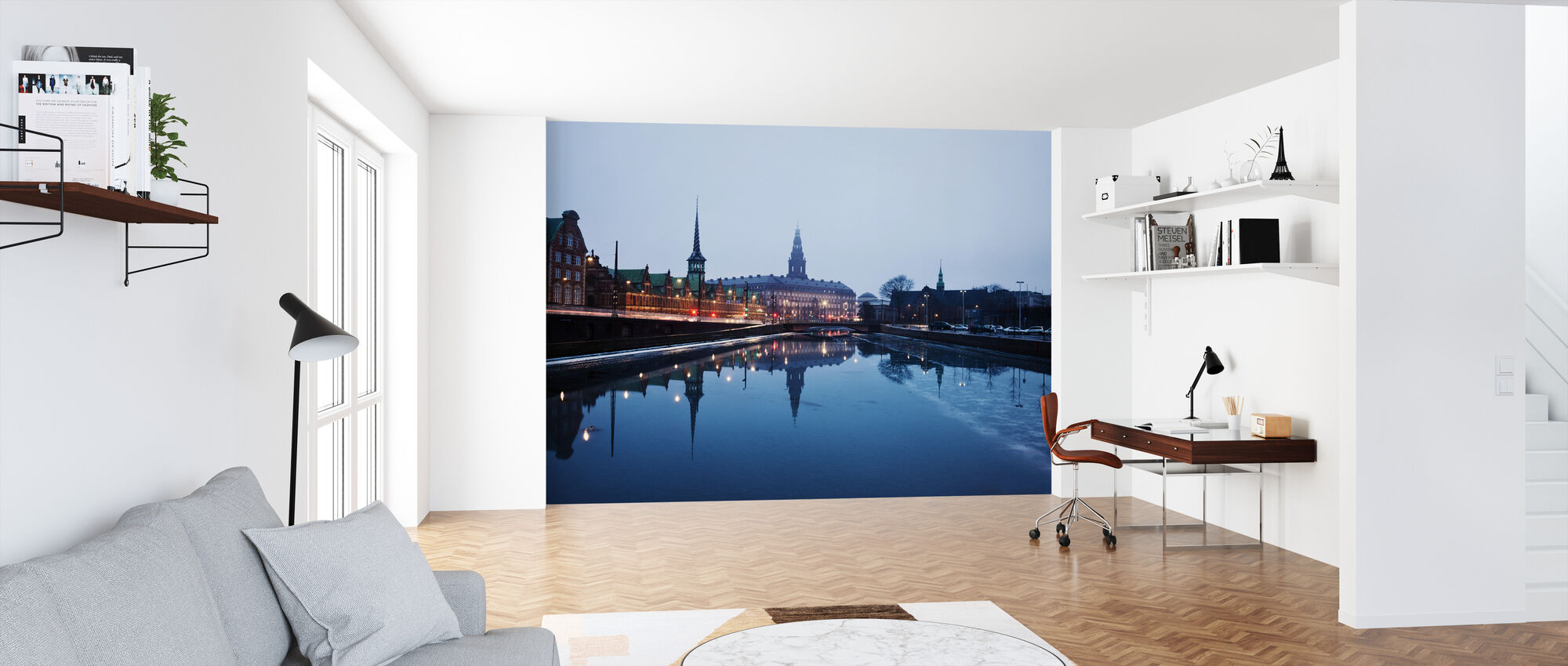 Twilight Copenhagen, Denmark - Wallpaper - Office