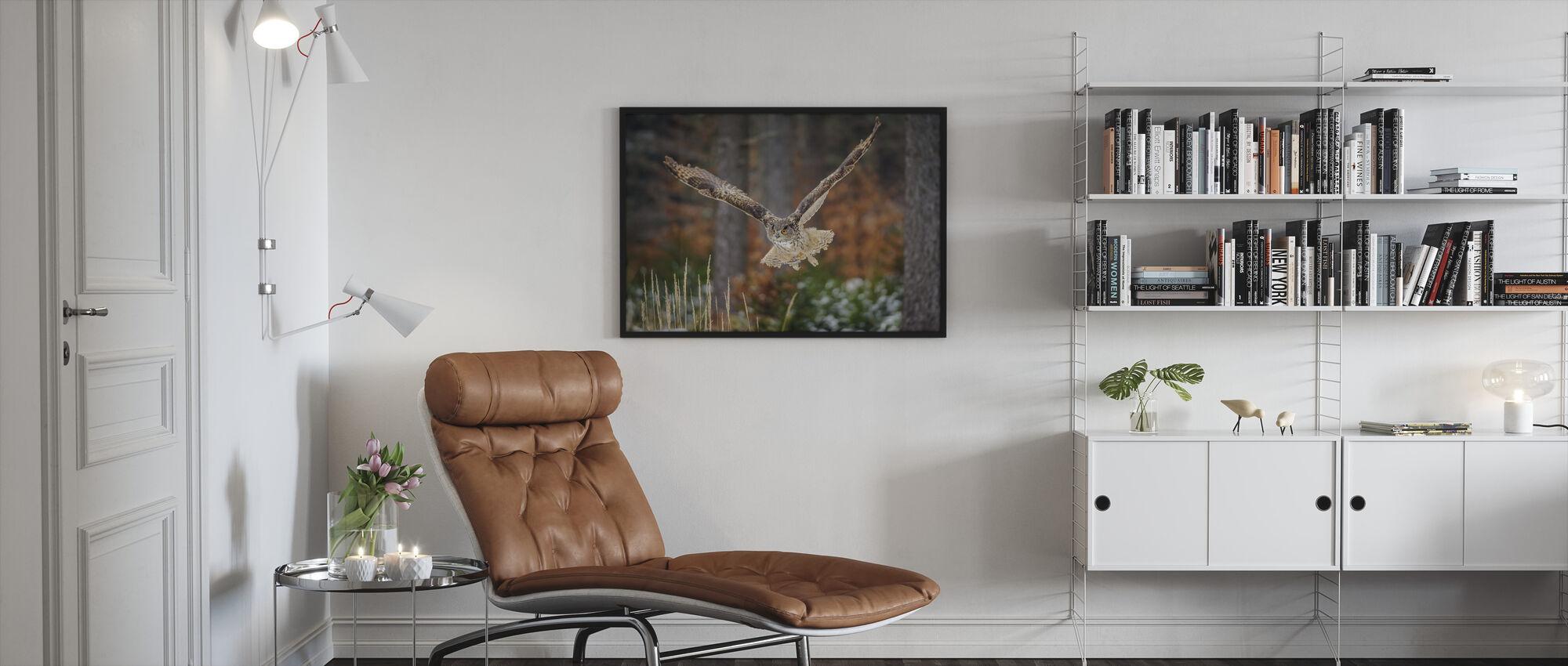 Bird of Prey - Framed print - Living Room